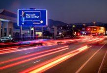 Outdoor Network Reveals Rotating Digital LED In Mbombela