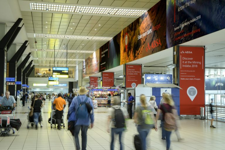 Airport Ads Implements ABSA's OOH Campaign