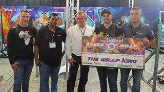 Ruan Greeff Representing South Africa At FESPA World Wrap Masters