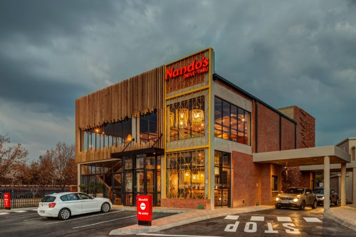 Design Partnership Brings The Nandos Spirit To The West Rand
