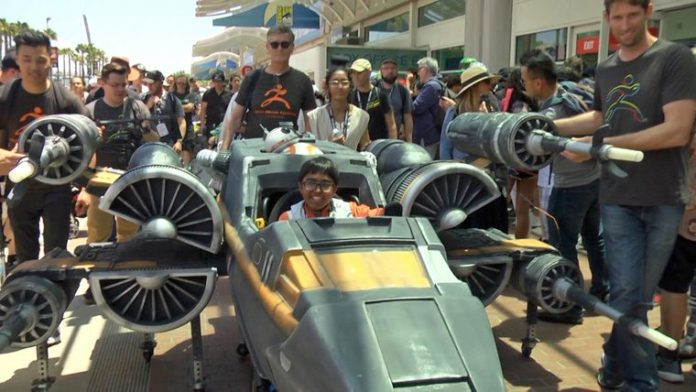 Massivit And Magic Wheelchair Partner For X-Wing Fighter 3D Printed Costume
