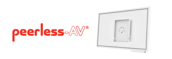 Peerless-AV Introduces Custom Solutions For Wall Mount Displays