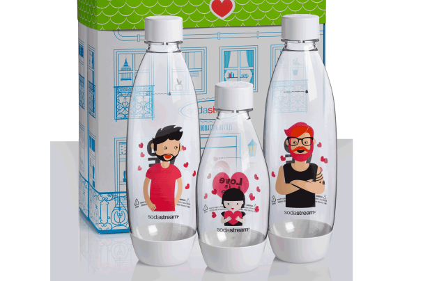 SodaStream Celebrates Pride Month With Love Is Love Bottles