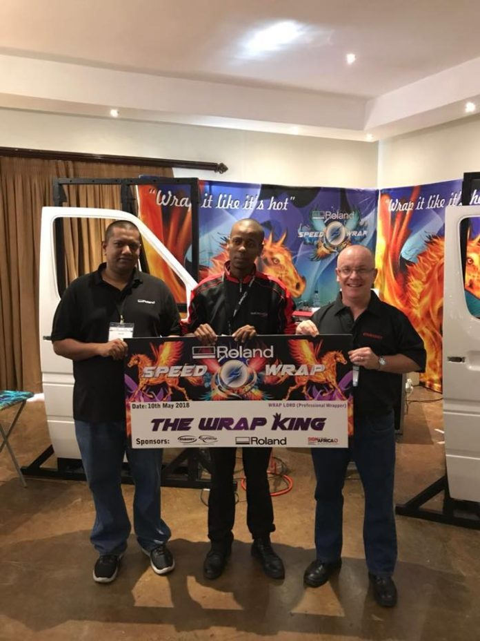 Speed Wrap Winner Crowned At Sign Africa Bloemfontein Expo