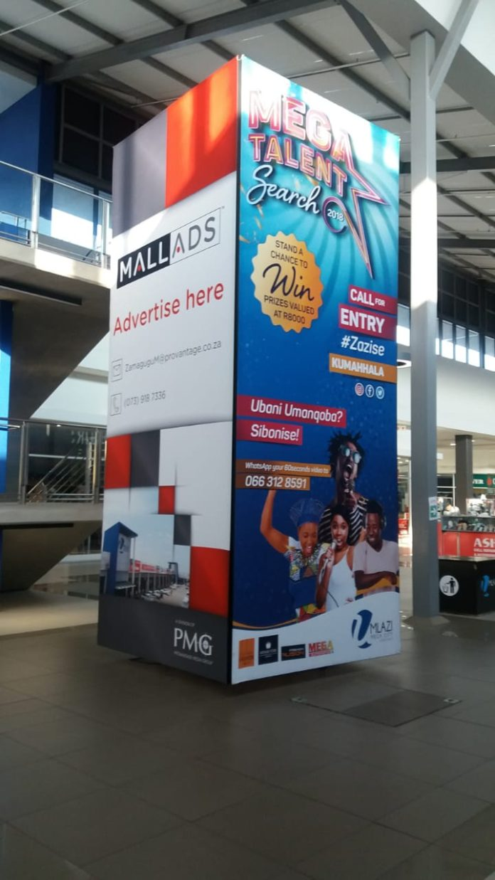 Mall Ads Installs Indoor Towa At Umlazi Mega City