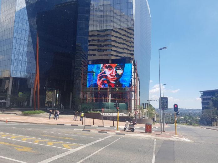 Relativ Media's Digital Screen Creates Feeling of New York In SA