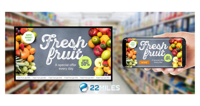 22Miles Releases Carry2Mobile A Digital Signage Content Transfer Solution