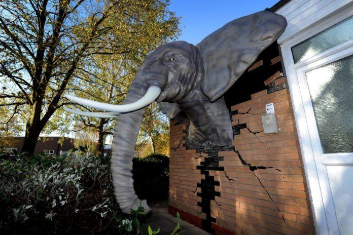 3D Printed Elephant Created By Massivit 1800