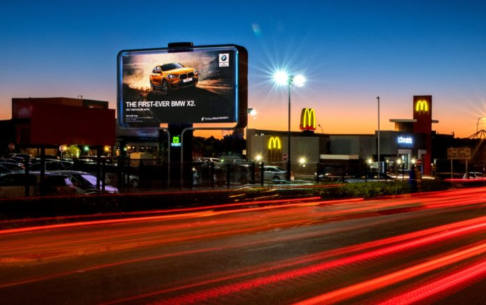 Outdoor Network Erects Digital Rotating Billboard At Cresta Mall