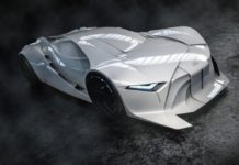 World's First Full Scale 3D Printed Concept Car Inspired By David Bowie
