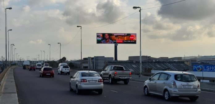 Primedia Outdoor Launches LED Billboard In Durban