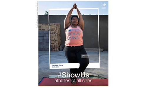 Dove Runs #ShowUs Project Supporting A Call By Women To Brands