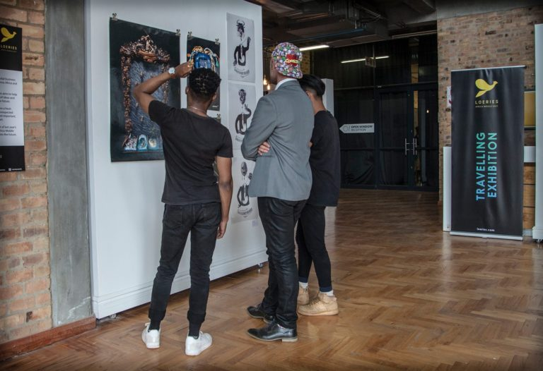 The #Loeries2019 Travelling Exhibition Goes To Cape Town