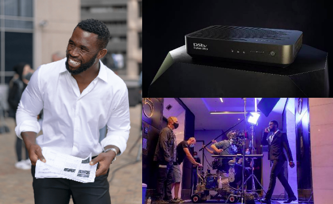 DStv Features Siya Kolisi In Creative Explora Ultra Launch Campaign