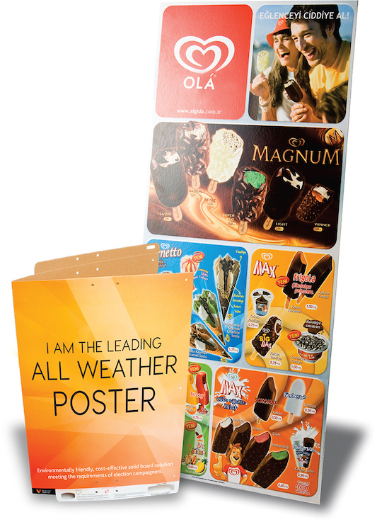 Kalideck Releases Water-Resistant Poster For Outdoor Marketing Campaigns