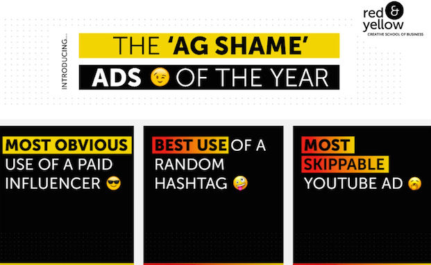 Red & Yellow Introduces 'Ag Shame' Campaign For Advertising That Missed The Mark