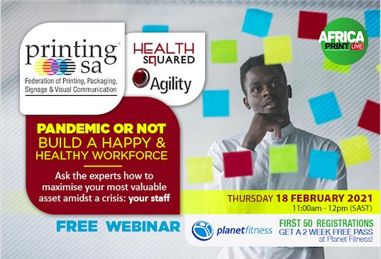 Free Webinar: Prioritising Wellbeing In The Visual Communications Industry