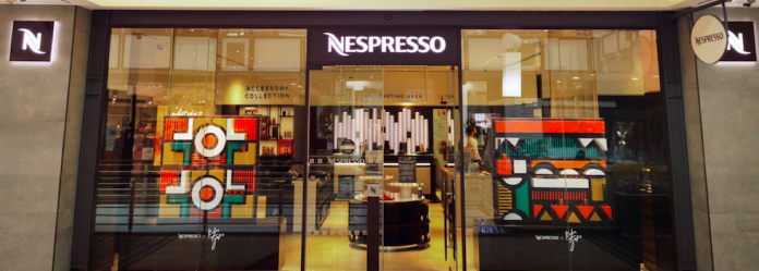 Nespresso And Baba Tjeko Blend Coffee with Art