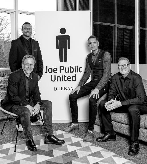 Joe Public United Acquires KZN-Based Integrated Creative Agency